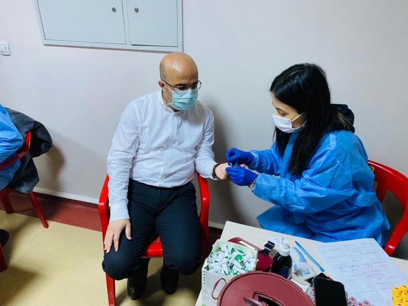 14 Mart Tıp Mayramında Kurtalan Devlet Hastanesin'den Kızılay'a Kan Desteği
