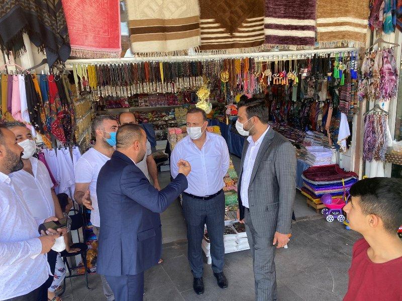 Ak Parti Milletvekili Osman Ören,  Esnaf Ziyaretinde Bulundu