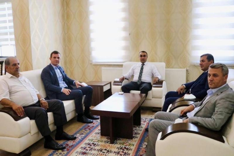 AK Parti'den Kaymakam Tekin'e Hayırlı Olsun Ziyareti