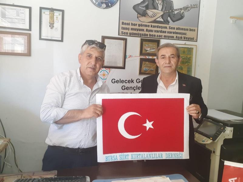 Bursa Siirt Kurtalanlılar Derneği Başkanı Gazetemizi Ziyaret Etti