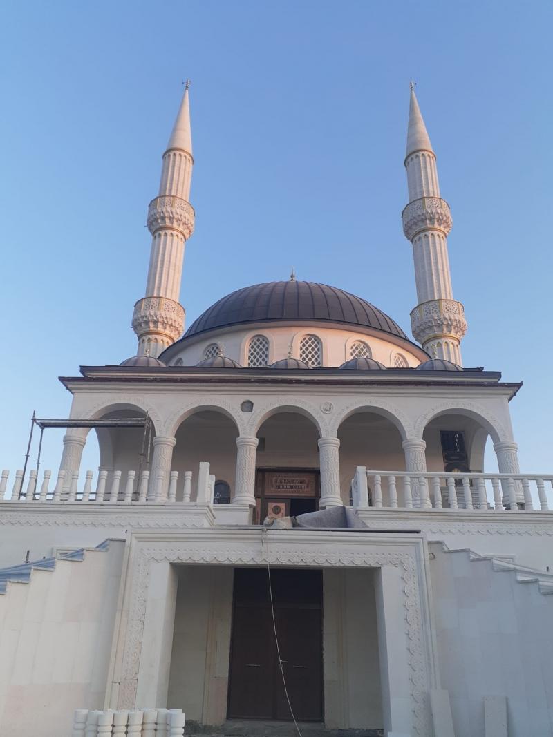 Derince Köyün'de İmece Usulü Cami Yapılıyor