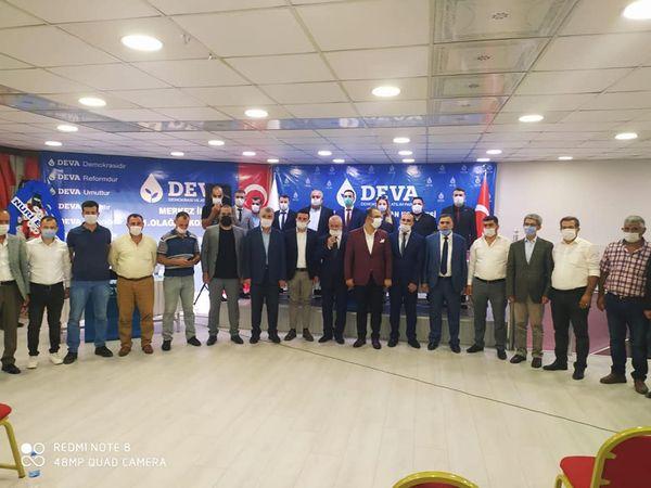 DEVA Partisi Siirt İlçe Merkez Kongresine Yoğun Katılım ...