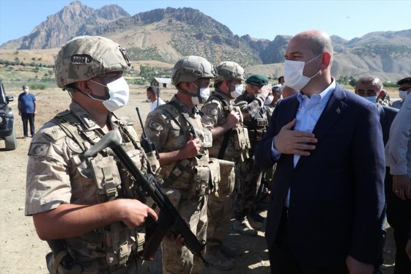 İçişleri Bakanı Süleyman Soylu'dan Siirt Jandarmasına Tebrik Mesajı