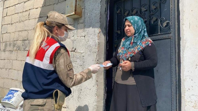 İhtiyaç sahibi 23 bin kişiye ayni ve nakdi yardım yapıldı