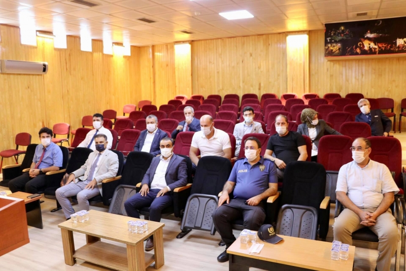 İlçe Güvenlik  Danışma Kurulu Toplantısı Gerçekleştirildi