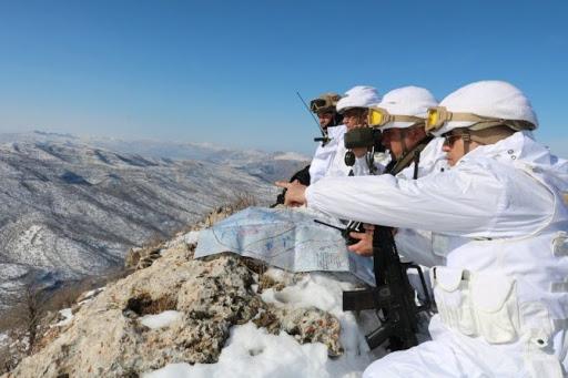 Kapan-5 Gabar Operasyonunda Emir Komuta Atabay'da