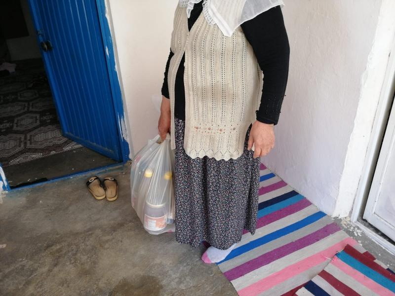 Kurtalan AK Parti'den Gıda Yardımı