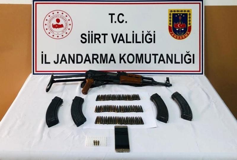 Kurtalan da Jandarmadan silah kaçakçılığına geçit yok
