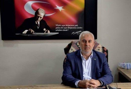 "KURTALAN ESNAF SANATKARLAR BAŞKANI   KARATAŞ  ""MÜLK SAHİPLERİ KİRA ALMAMALI"""