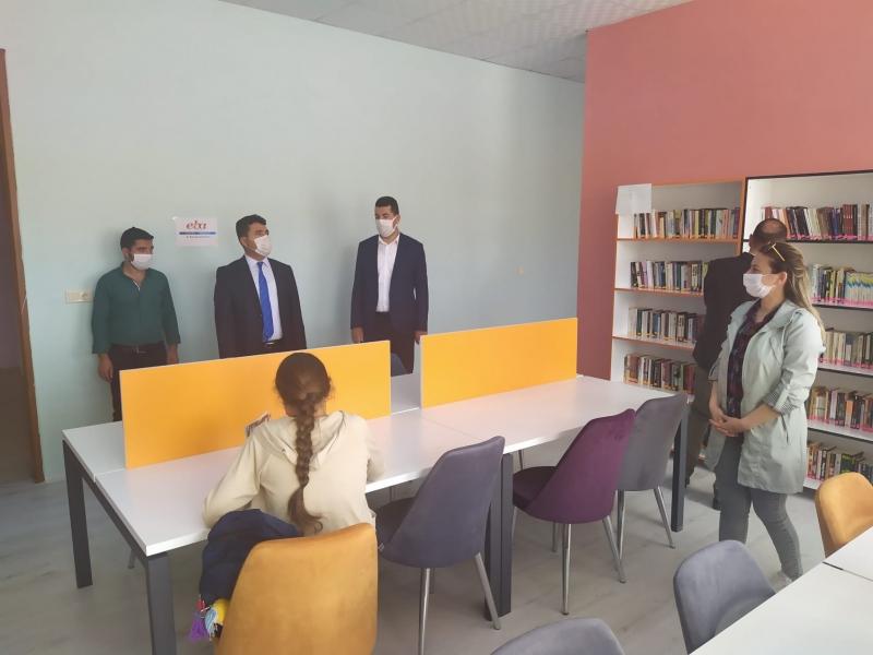 Kurtalan İlçe Milli Eğitim Müdürü Polat'tan Okul Ziyareti