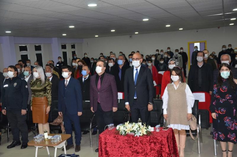 Kurtalan ilçesinde İstiklal Marşının kabulü kutlandı