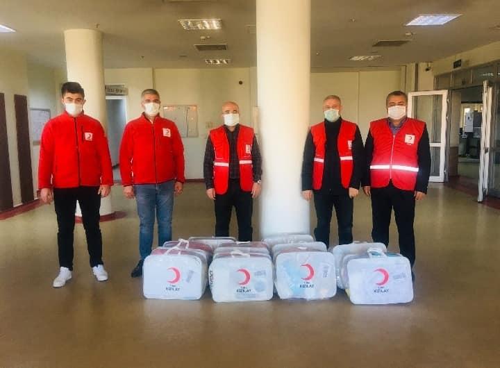 Kurtalan Kızılay'dan Annelere Yardım Paketi