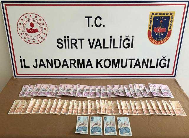 Kurtalan'da 7.000 TL Tutarında Sahte Para Ele Geçirildi
