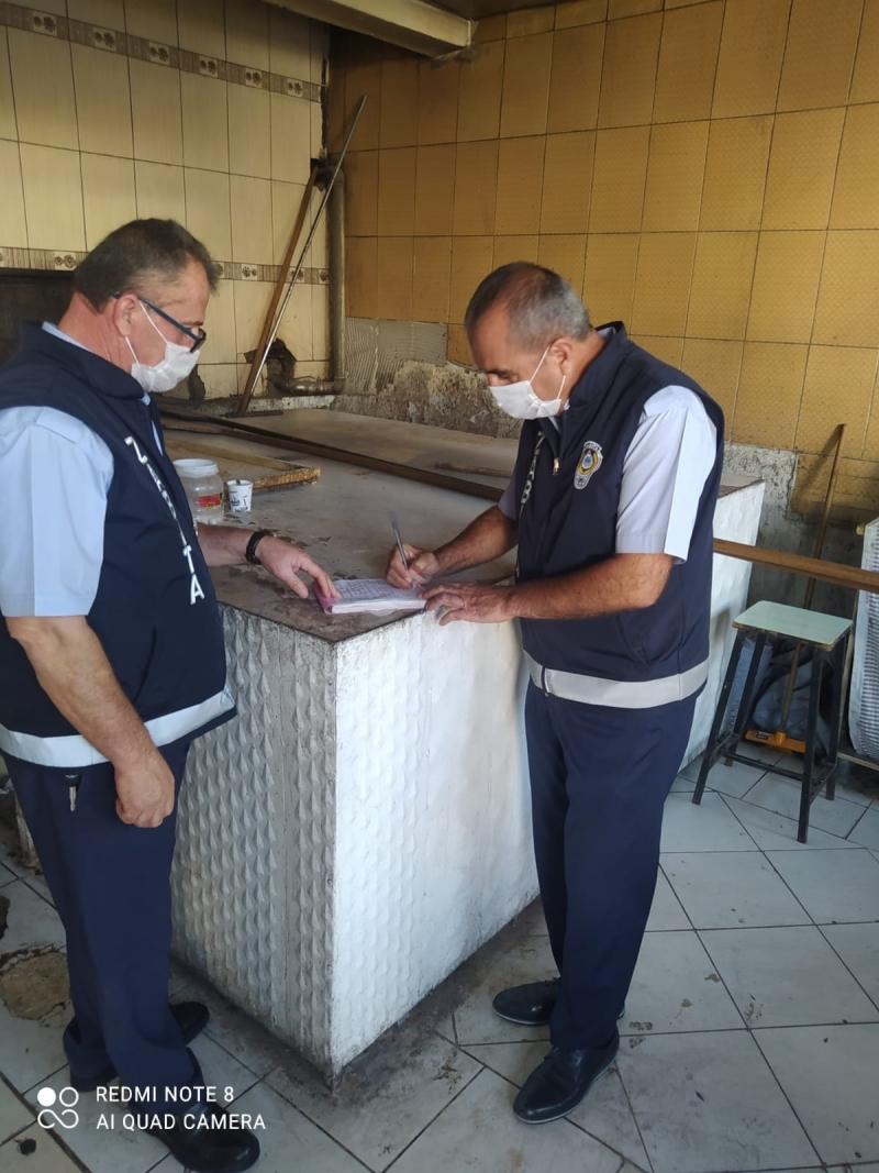 Kurtalan'da Faaliyet Gösteren Ekmek Fırınları Denetlendi