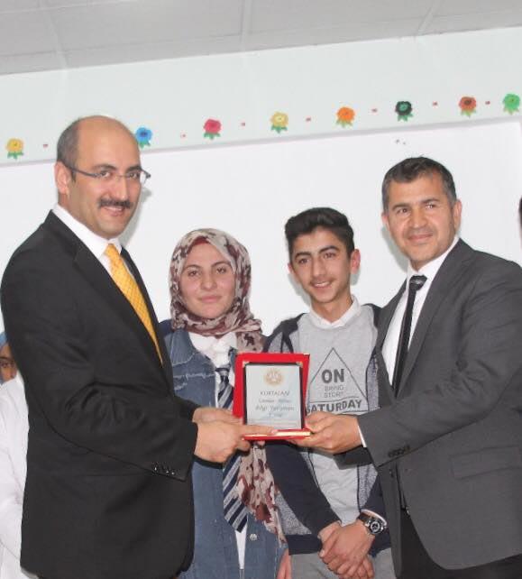 Kurtalan'da Liseler Arası Bilgi Yarışması