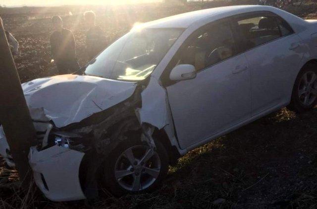 Kurtalan'da Otomobil ile traktör çarpıştı: 2 yaralı