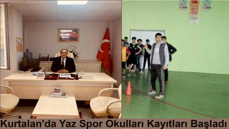 Kurtalan'da Yaz Spor Okulları Kayıtları Başladı