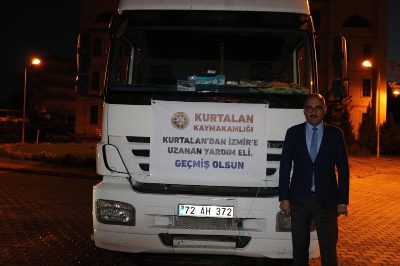 Kurtalan'dan İzmir'e Yardım Eli