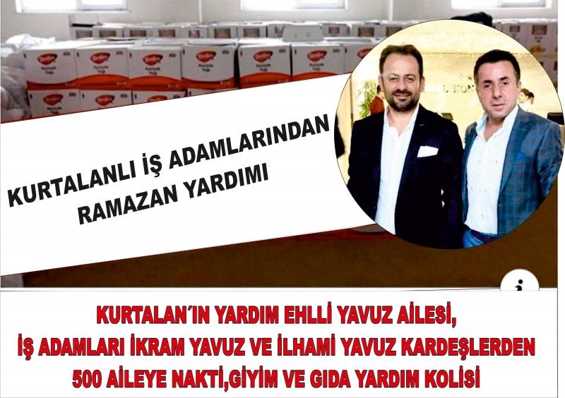 Kurtalanlı İş Adamı  Ramazan Yardımı