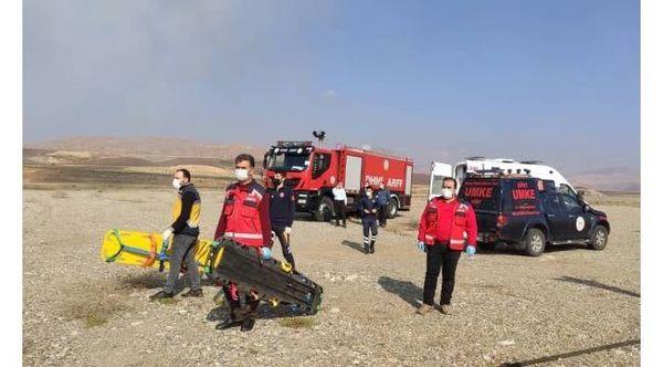 Siirt Havalimanında Kaza Kırım Tatbikatı