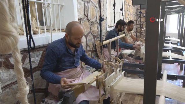 Siirt'in Şal-şepik Kumaşı, Beştepe Sarayı'nda Sergilenecek
