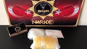 Siirt'te 1 kilo 670 gram metamfetamin ele geçirildi