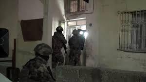 Siirt'te Terör Örgütü DEAŞ Operasyonu: 5 Gözaltı