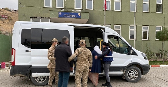 Siirt'te terör örgütü işbirlikçisi 2 şüpheli yakalandı