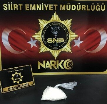 SİİRT'TE UYUŞTURUCU OPERASYONU