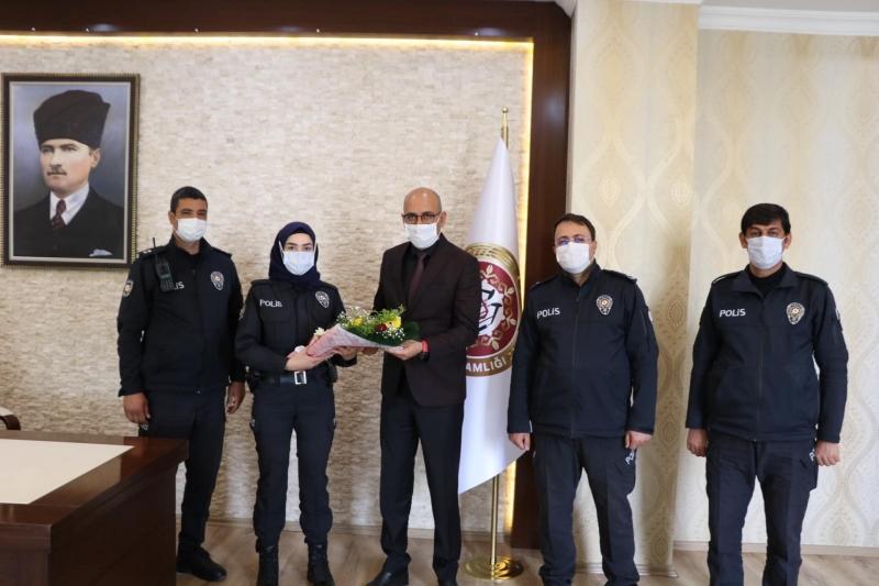 Türk Polis Teşkilatı'nın  176 yıldönümü Kurtalan'da  kutlandı.