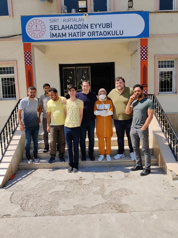 Türkiye birincisi oldu, Kurtalan'a gurur yaşattı.
