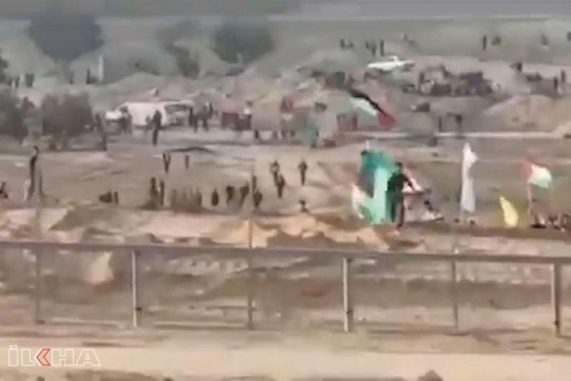 Ürdün halkı Filistin kapılarının açılması için sınıra akın ediyor