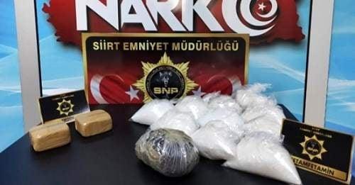 Uyuşturucu operasyonunda 5 şüpheli yakalandı
