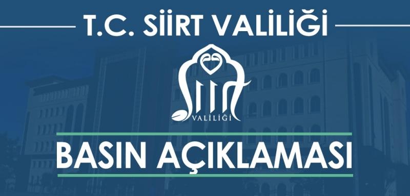 Valilik, Eski Siirt Belediye Başkanı Berivan Helen Işık'ın Gözaltına Alınmasıyla İlgili Yazılı Açıklama Yaptı