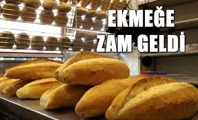 Siirte' te ekmeğe ZAM