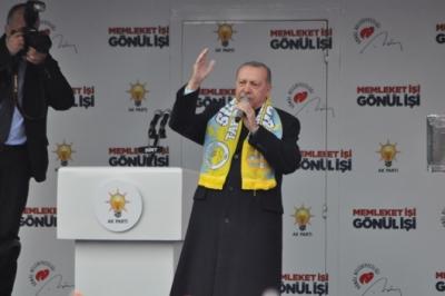 CUMHURBAŞKANI ERDOĞAN SİİRT'E GELİYOR