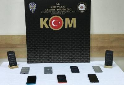 Kaçak Telefon Bulunan Şahıs Gözaltına Alındı