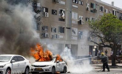 Kassam Tugaylarından Aşkelon'a füze saldırısı: 2 ölü, 80 yaralı