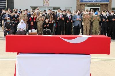 Şehit Jandarma Uzman Çavuş Erkan Erdem Dualarla Ebediyete Uğurlandı